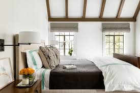 Swing Arm Wall Sconces For Bedroom Brown And Green Bedroom With Orange Accents Transitional Bedroom