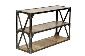industrial natural mango console table cn1089 cdi furniture