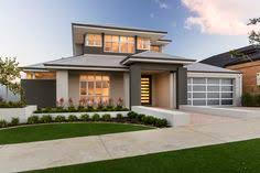 Modern Elevation Modern Elevation With Rendered Facade Gable Planking And