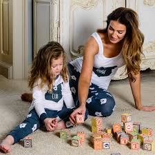 hugs matching family pyjamas with vest top by big