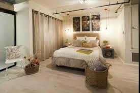 trennwand schlafzimmer vorhang als raumtrenner verwenden kluge wohnideen