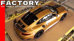 porsche turbo logo porsche 911 turbo s exclusive series factory youtube