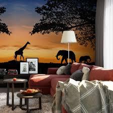 Dekobuchstaben Wohnzimmer Fototapete African Sunset Holen Sie Afrika In Ihr Wohnzimmer