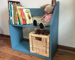 Canoe Bookcase Furniture Kids U0027 Bookcases Etsy