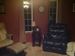 paint colour curtain colour to go with navy leather couches