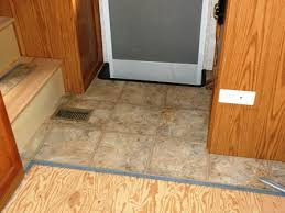 an rv flooring replacement by traffic master