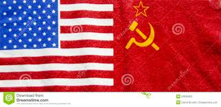 american and russian flag stock photos image 23836903