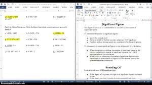 sig figs practice worksheet youtube