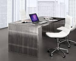 Modern Glass Executive Desk Modern Executive Desk Z082 Desks With Regard To Contemporary