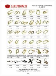 earing hook metal earring hook types fashion design buy earring hook types