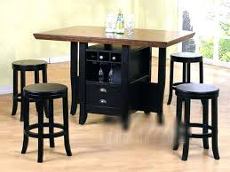 Kitchen Bar Table With Storage Awesome Kitchen Table Bar Style Pub Table With Storage Underneath