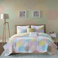 Geometric Coverlet Geometric Youth U0026 Kids U0027 Bedding Shop The Best Deals For Nov 2017