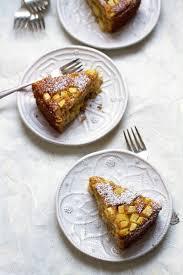 bolo de ananás azores almond polenta pineapple cake