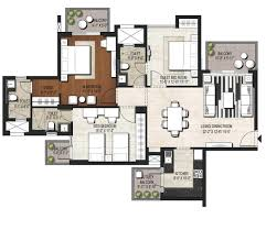 3 bhk apartment floor plan 2 bhk apartments in noida 3 bhk and 4 bhk apartments in sector