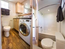 Tiny Home Bathroom by This Tiny Home On Wheels Lets You Change Your Vista On A Whim
