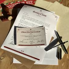 the classic santa letter the north pole postal company