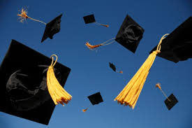 cap and gown graduation seniors look back on high school years the facts