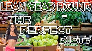 the perfect diet how i stay lean year round grocery shopping