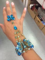 bracelet ebay images Fashion vintage handmade flower charm lace slave flower finger jpg