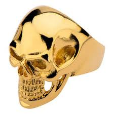 gold skull rings images Skull ring metal mania gold ip steel metal meltdown jpg