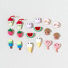 claires earrings food cuties earrings adorable bling bling bling