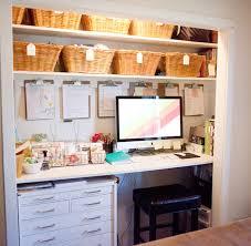 bureau dans un placard un bureau dans le placard déco mydecolab
