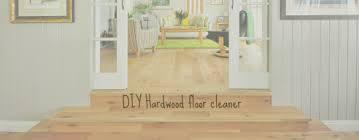 diy hardwood floor cleaner mopping recipe frugal