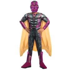 buy avengers 2 age of ultron deluxe vision kids costume