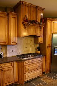Backsplash Kitchens 20 Best Countertops For Cherry Cabinets Images On Pinterest