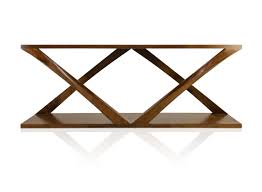 modern wood console table piero console contemporary transitional mid century modern art