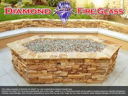 Fire Pit With Glass by Fire Pit Glass Rocks U003e Premixed Fire Pit Glass