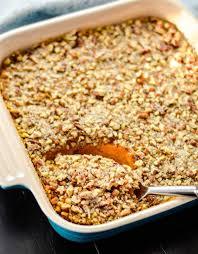 gluten free thanksgiving side dishes healthy sweet potato casserole paleo vegan u0026 sugar free