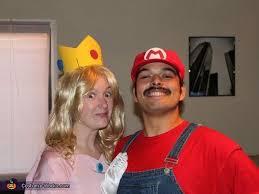 Peach Halloween Costume Coolest Princess Peach Mario Couple Costume Princess Peach