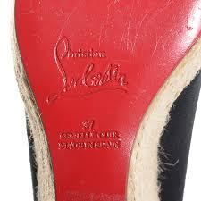 christian louboutin canvas espadrilles replica shoes men