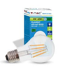 60w Led Light Bulb by Buy 8w A67 Led Filament Bulb 800 Lumens 60w Equivalent E27 Base