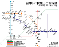 Orange Line Metro Map by File Taichung Brt Route Map Jpg Wikimedia Commons