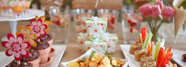 garden inspired gourmet menu for a sweet 16 party from kreavie