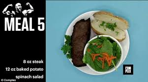 the rock u0027s 5 165 calorie daily diet contains 10 pounds of food