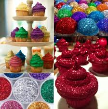 eddible glitter how to diy edible glitter frosting cupcakes desserts