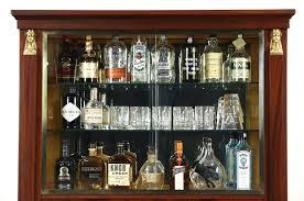 Cherry Wood Curio Cabinet Curio Cabinet Miller Berkshire Cherry Wood Cornerio Cabinet Bar