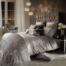 kylie minogue bedding esta silver grey duvet cover curtains