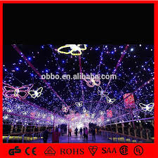 Purple Butterfly Christmas Decorations christmas decoration light butterfly flying led lighting purple