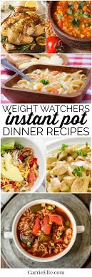 light dinner recipes for weight loss weight watchers instant pot dinner recipes with smartpoints weight