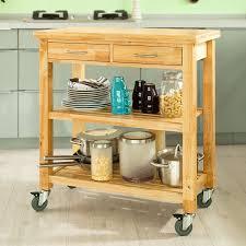 rubberwood kitchen cabinets amazon com haotian fkw24 n natual rubber wood kitchen trolley
