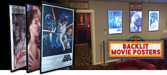 lighted movie poster frame movie poster frames back lit