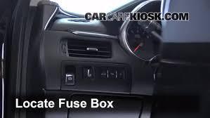 interior fuse box location 2014 2016 chevrolet impala 2014