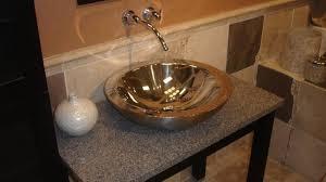 Vanity Youtube Vessel Sinks Maxresdefault Copper Vessel Sink With Vanity Diy
