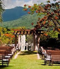 Wedding Venues In Puerto Rico Wedding Ceremony At Casitas Garden At El Conquistador Resort In