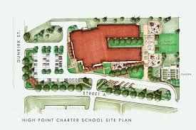 landscape site plan powerpoint chart templates