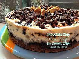 brownie chocolate chip cookie dough ice cream cake recipe